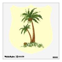 Palm Tree Wall Decal | Zazzle