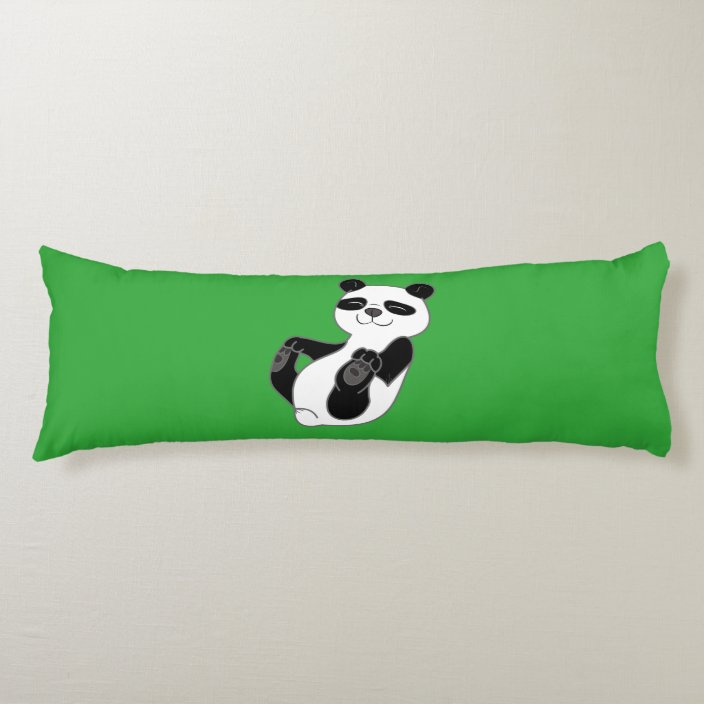 panda bear cub body pillow zazzle com