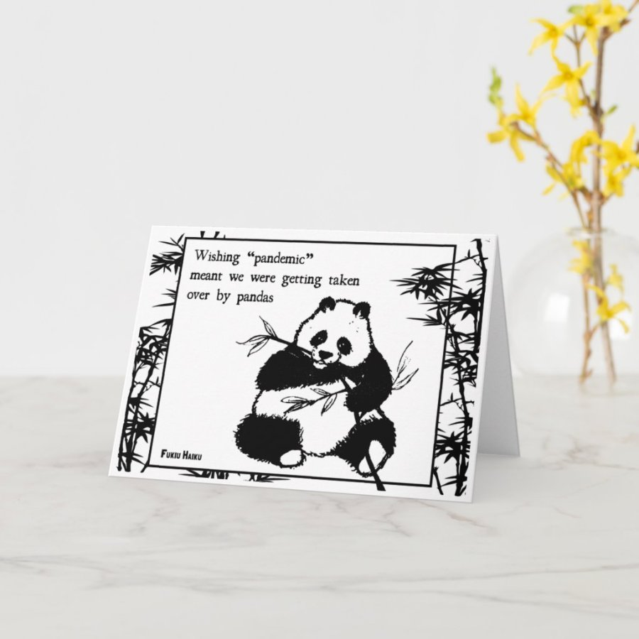 Pandemic Greeting Card