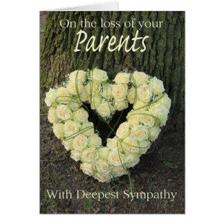 parents loss rose sympathy card r83db62757c0042a1b79c42481ba3c32b xvuat 8byvr 324