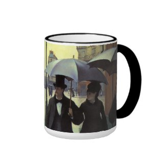 Paris Street, Rainy Day by Gustave Caillebotte Coffee Mug