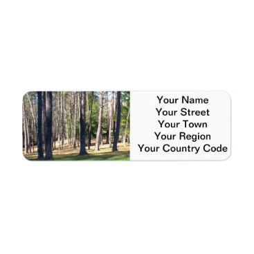 Park Trees Label