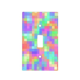 Pastel Abstract Switch Plate Covers