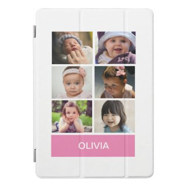 Pastel Pink Custom Photo – Personalized iPad Pro Cover
