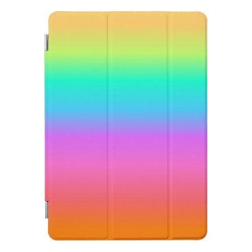 Pastel Rainbow iPad Cover
