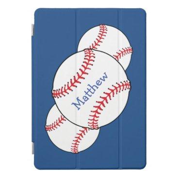 Patriotic Baseball Blue Sports 10.5 iPad Pro Case