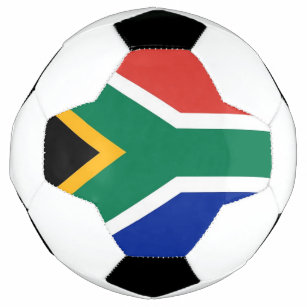 patriotic soccer ball with