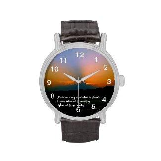 Patriotism Wrist Watch