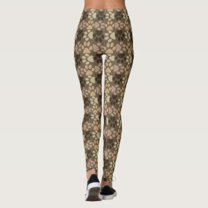 Paw Print Design Leggings