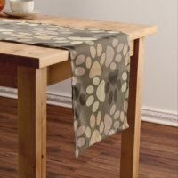 Paw Prints Table Runners | Zazzle