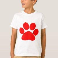 Paw T-Shirts & Shirt Designs | Zazzle