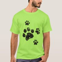 Paws T-Shirts & Shirt Designs | Zazzle