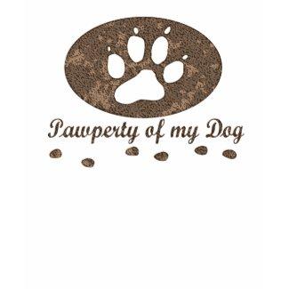 pawperty_dog_zazzle_back22 shirt