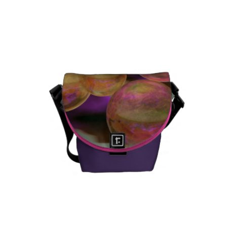 Peace in the Storm – Violet Amber Tranquility Mini Messenger Bag