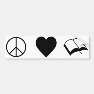 Image result for peace love and books