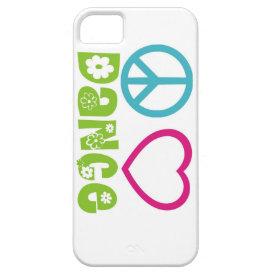 Peace Love Dance iPhone SE/5/5s Case