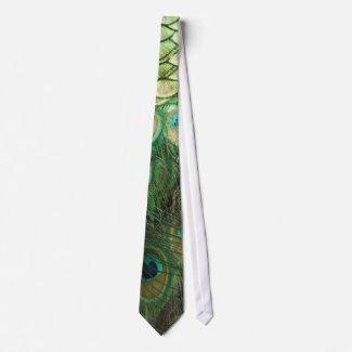 Peacock Beauty - Tie tie