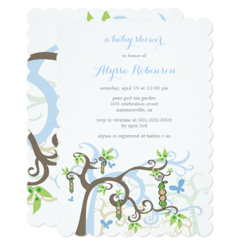 Invitation (Twin Baby Boys)