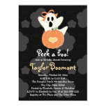 Peek a Boo Ghost Baby Shower Invitations