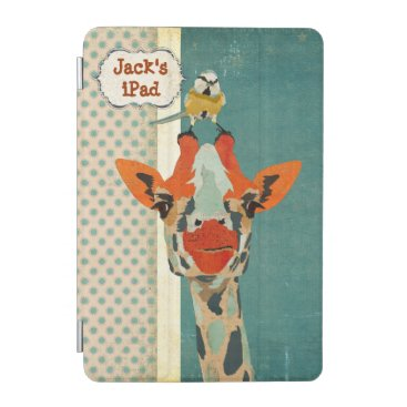 Peeking Giraffe & Little Bird iPad Case