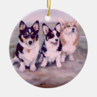 PEMBROKE WELSH CORGI-ORNAMENT