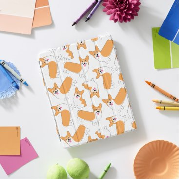 Pembroke Welsh Corgi Pattern iPad Smart Cover