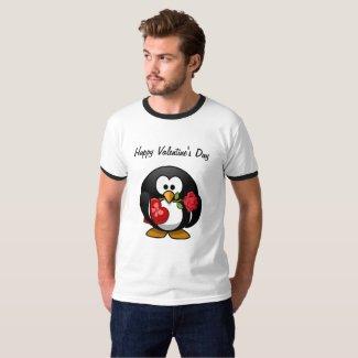 Penguin Valentine Ringer T-Shirt