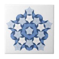 Pentagon Ceramic Tiles | Zazzle