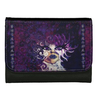 People Are Strange Leather Faux Wallet