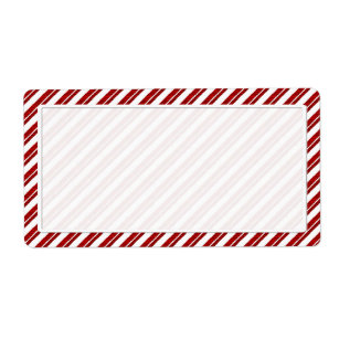 peppermint candy cane stripe