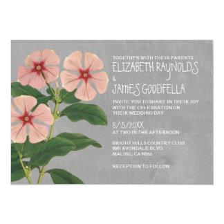 Periwinkle Modern Wedding Invitations