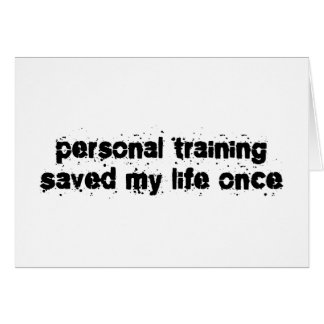 Personal Training Cards, Personal Training Card Templates