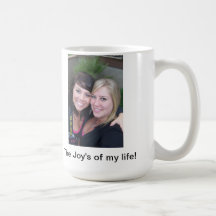 Personalize 15oz Coffee Mug