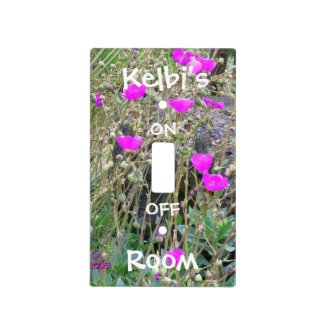 Personalize Light Switch Cover Plate