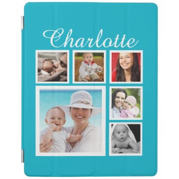 Personalized Custom Photo Collage Customizable iPad Smart Cover