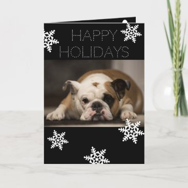 Personalized From Dog Christmas Holiday Card