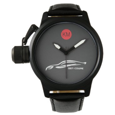 Personalized Hyundai Genesis Coupe Wrist Watch