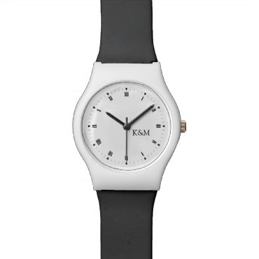 Personalized Initials Watch