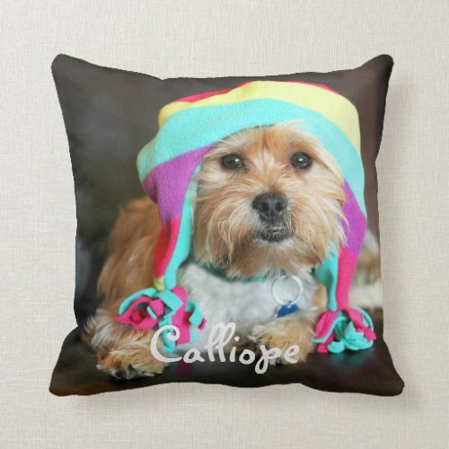 Personalized Pet Photo Pillow