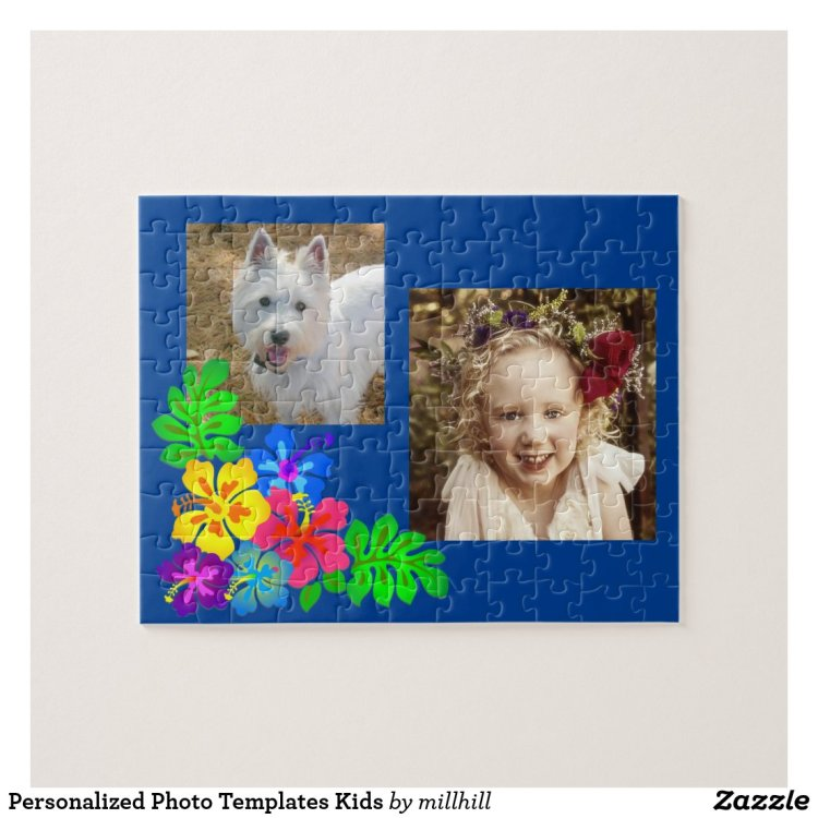 Personalized Photo Templates Kids Jigsaw Puzzle