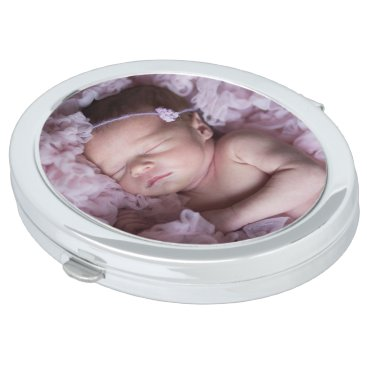 Personalized Picture Compact Mirror for Purse