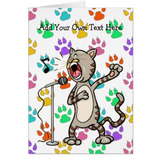 Music Theme Greeting Cards Zazzle