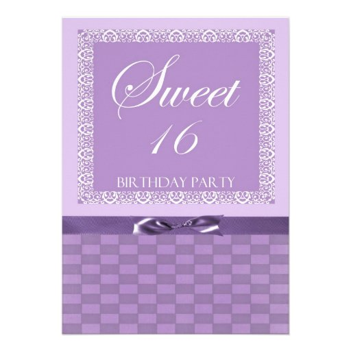 personalized sweet 16 party