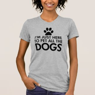 Pet All The Dogs Saying T-Shirt