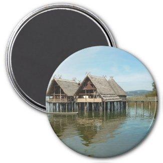 Pfahlbauten - Stilt House Museum Unteruhldingen Magnets
