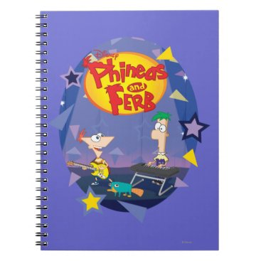 Phineas and Ferb 1 Notebook