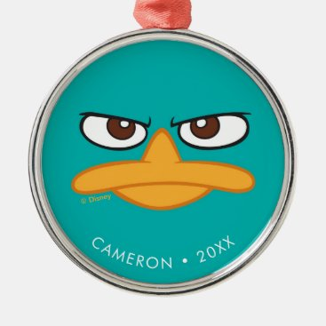 Phineas and Ferb | Agent P Face Metal Ornament