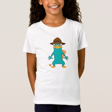Phineas and Ferb Agent P platypus in hat standing T-Shirt