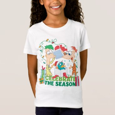 Phineas and Ferb Celebrate the Season T-Shirt