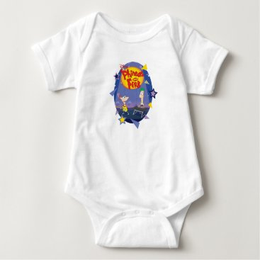 Phineas and Ferb Disney Baby Bodysuit